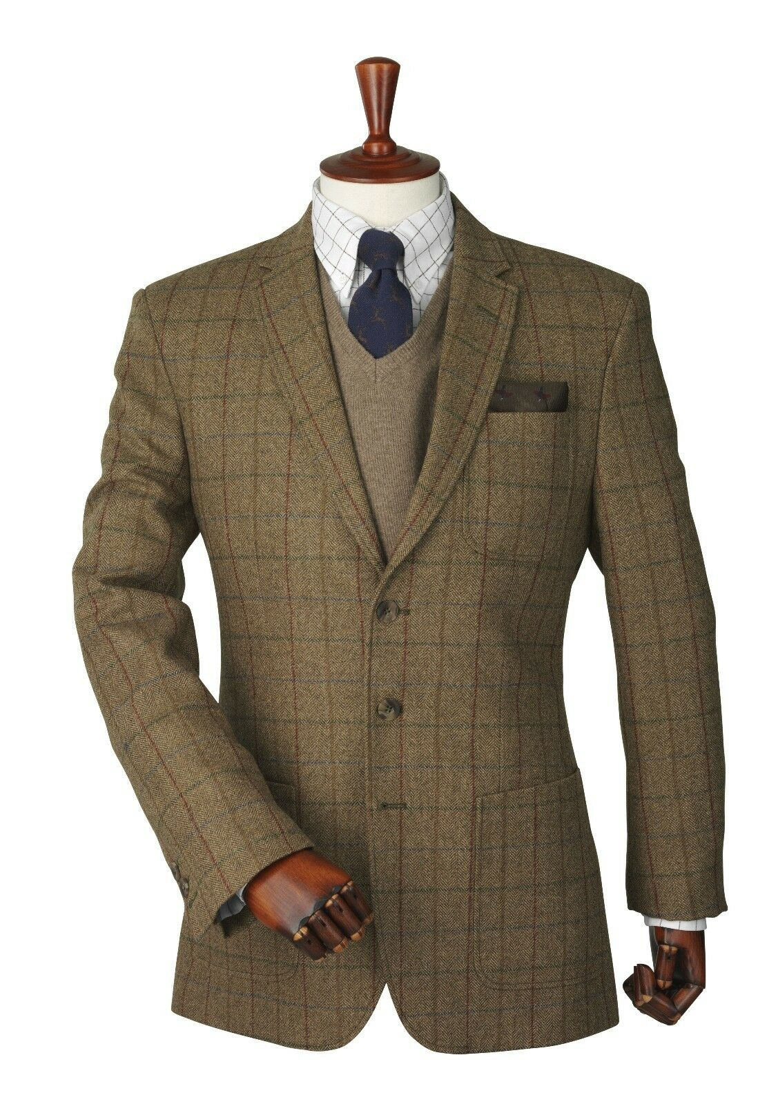 Laksen GVI Donegal Tweed Sports Veste