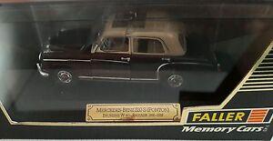 Faller Memory Cars Scala 1/43 # 4325 Mercedes Benz 220s (ponton)