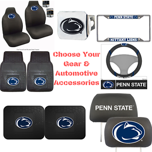 NCAA-Penn-State-University-Choose-Your-Gear-Auto-Accessories-Official-Licensed