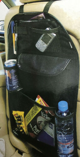 NEW BACK SEAT CAR VAN SEAT CHILDRENS ORGANISER TIDY MULTI-POCKET STORAGE TRAVEL!