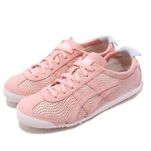 Asics Onitsuka Tiger Mexico 66 Pink Womens Retro Running Shoes ... 244ed8e623