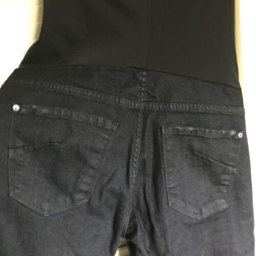 Destructed Ankle Bodega Jeans Panel Black Skinny Denim James Maternity 29 gwqASBvXx