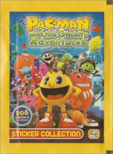 50 Packs Pacman and the Ghostly Adventures Stickers Giromax 2012