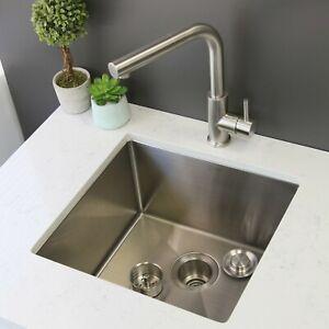 "19""L x 18""W Stainless Steel Single Basin Undermount Kitchen Sink"