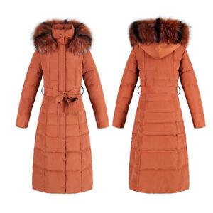 Women-Winter-Warm-Cotton-Down-Jacket-Fur-Collar-Hooded-Coat-Snowsuits-Long-Parka