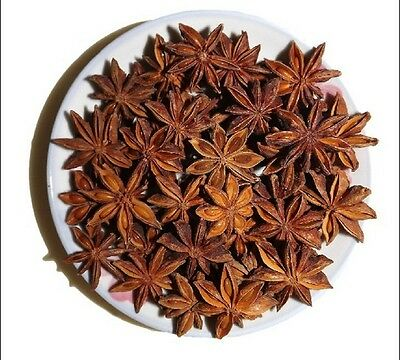 Star Anise Whole Select Grade Organic Free Shipping seasoning in china(100g)