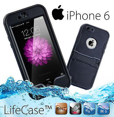 LifeCase™ WATERPROOF Schutz Cover Case Hülle Wasserfest für iPhone 6 NEU!!