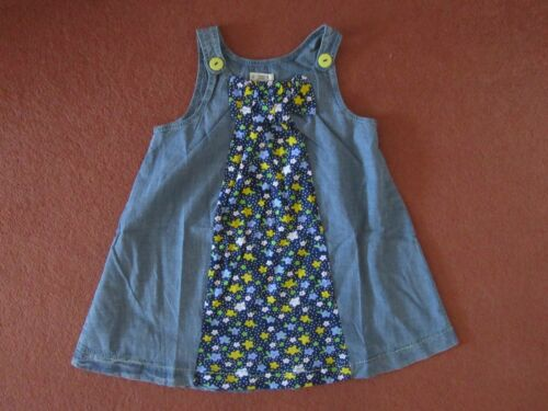 Domino Girls Denim Dress with Leggins