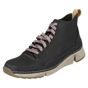 Dark Ladies 'tri Boots Ankle Clarks Free' Grey XvFgZw
