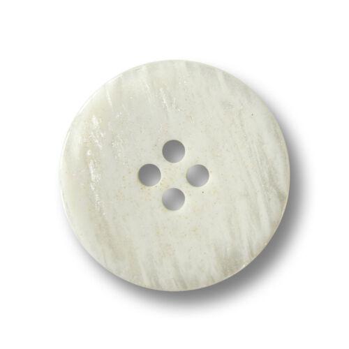 3221we 5 naturaleza blanca cuatro agujero botones con madreperla brillo /& glitter partículas