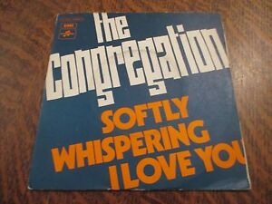 45-tours-THE-CONGREGATION-softly-whispering-i-love-you