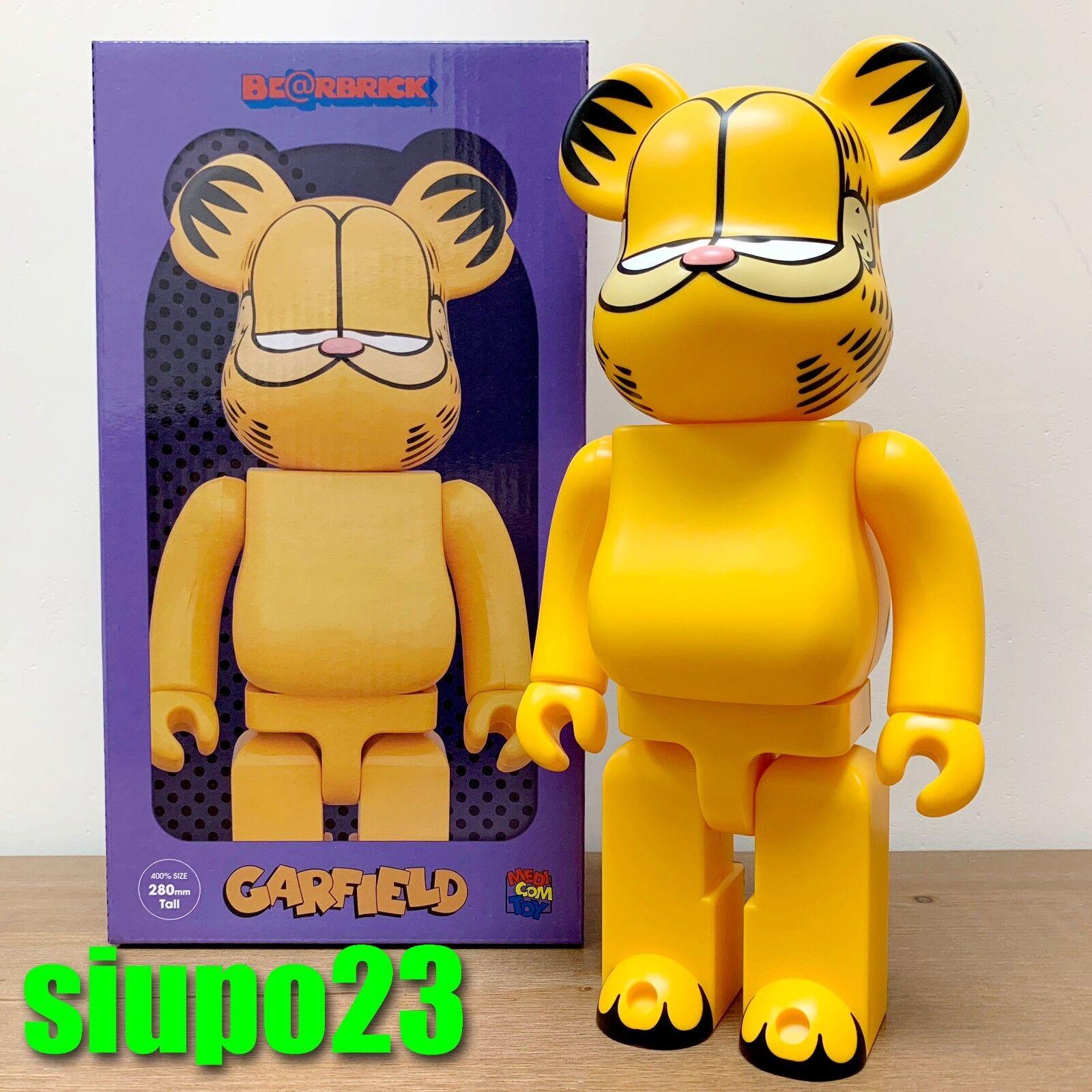Medicom 400% Bearbrick  Garfield Be@rbrick