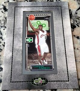 2a755071e74 LEBRON JAMES 2003-04 Topps Matrix Minis Framed Rookie Card RC ...
