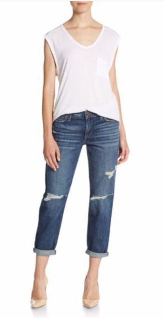 New Joe's Jeans Aura Distressed Boyfriend Jeans Women's Size 30