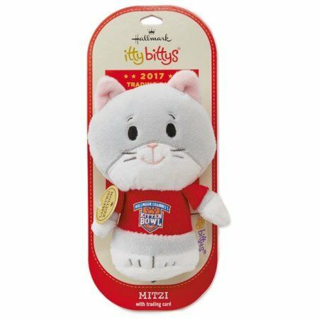 itty bittys® Kitten Bowl Mitzi Stuffed Animal Limited Edition