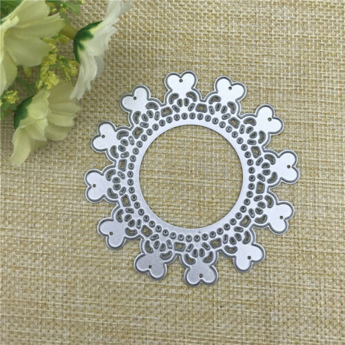 Love Heart Round Metal Cutting Dies Stencils Making Decorative Embossing Cards