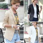 Women's Fashion One Button Slim Casual Business Blazer Suit Jacket UTAR