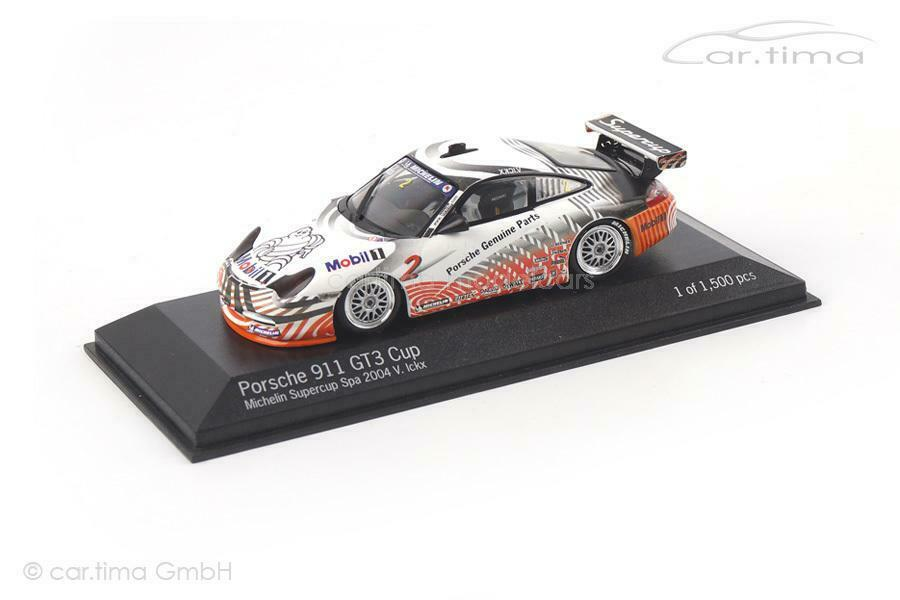 Vuelta de 10 dias Porsche 911 (996) GT3 Cup - súpercup Spa Spa Spa 2004 - Ickx - 1 of 1.500 - Minichamps -  los nuevos estilos calientes
