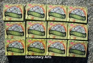 Hem-Good-Fortune-Incense-Cones-Bulk-Lot-12-Packs-of-10-Cones-120-Cones-Total
