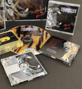Nitrate Open Wide Minidisc Brand New Inf BonJovi/Def Leppard/Motlet Crue/Zinatra