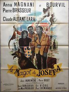 Affiche-LE-MAGOT-DE-JOSEFA-Claude-Autant-Lara-BOURVIL-Anna-Magnani-120x160cm