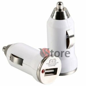 Auto-Ladegeraet-Mini-USB-Weiss-fuer-Samsung-galaxy-y-Pro-B5510-S6102-S5369