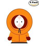 South Park Kenny Cartoon Decal Diecut Sticker 4 Stickers