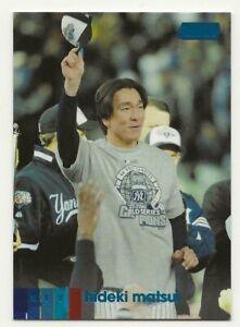 2020 Topps Stadium Club HIDEKI MATSUI Blue Foil SP Parallel 02/50 Yankees #103