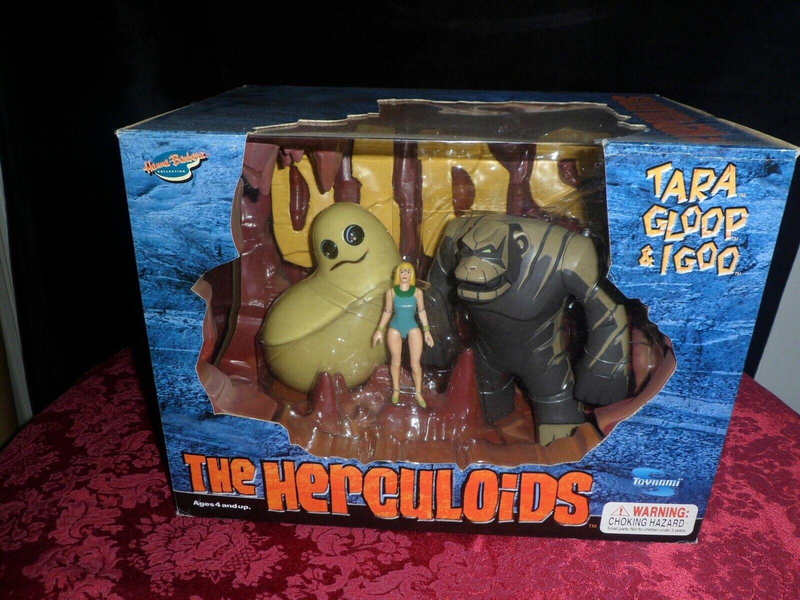The Herculoids Tara, Gloop and Igoo by Toynami