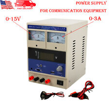 Dc Power Supply 0 15v0 3a Adjustable Digital Regulated For Mobile Phone Repair