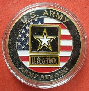 US-CHALLENGE-COIN-034-UNITED-STATES-ARMY-10th-MOUNTAIN-DIVISION-034-UNCIRCULATED