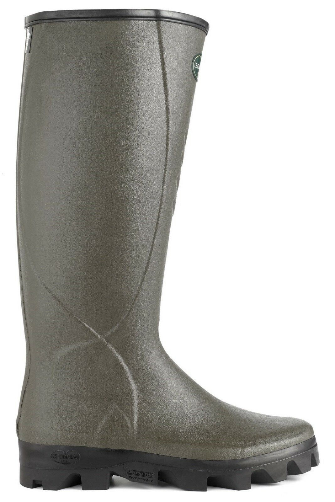 Le Chameau Ceres Neoprene Lined Wellington Boots With Michelin Sole