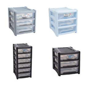 Details About Plastic Shallow Drawer Storage Cabinet Bedroom School Office Organizer Rack Tidy