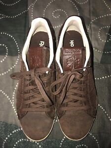 d00c3ceaee776 RARE Reebok Classic NPC II Mens Athletic Shoes Sneakers Size 9 Brown ...