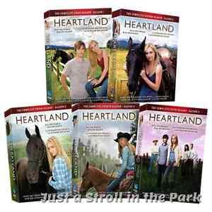 Heartland: Canadian Horse TV Series Complete Seasons 1 2 3 ...