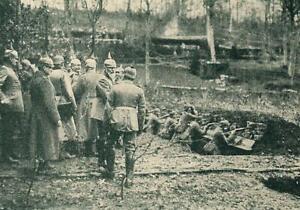 Prinz Leopold von Bayern - Frontbesuch - Erster Welkrieg - um 1915 - A 30-43