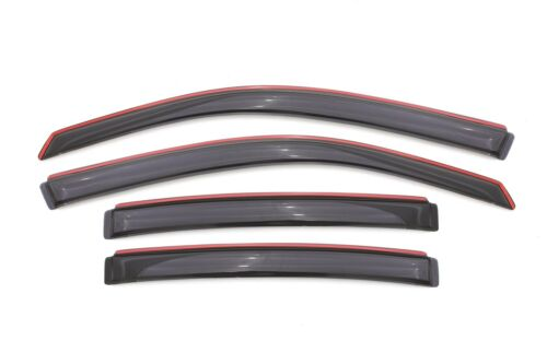 Fits 08-14 Avenger Auto Ventshade 194065 Ventvisor In-Channel Deflector 4 pc