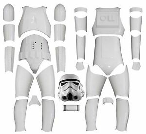 Stormtrooper costume armour full diy kit version 2 with helmet image is loading stormtrooper costume armour full diy kit version 2 solutioingenieria Gallery