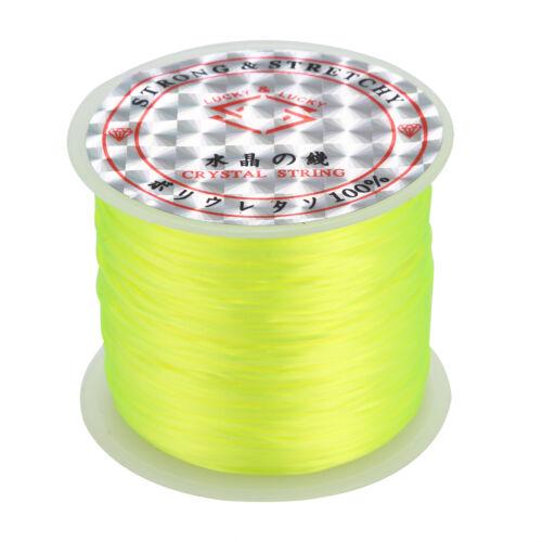 10//50m Stretch Cord Stretchy Beading Thread Cord Bracelet String Jewelry Making
