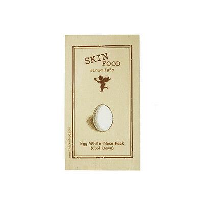 [SKINFOOD] Egg White Nose Pack (Cool Down) 10pcs - Korea Cosmetic