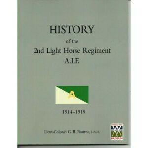 History-of-the-2nd-Australian-Light-Horse-Regiment-A-I-F-WW1-New-Book