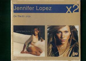 JENNIFER-LOPEZ-ON-THE-6-J-LO-BOX-DOPPIO-CD-NUOVO-SIGILLATO