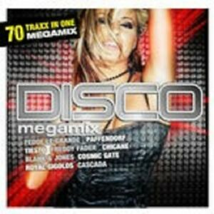 DISCO-MEGAMIX-VOL-1-SAMPLER-2-CD-NEW