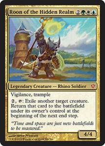 Roon of the Hidden Realm x4 Magic the Gathering 4x Commander 2013 mtg card lot