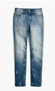 fdb1422b7d28 Image is loading MADEWELL-The-Perfect-Summer-Jean-Daisy-Embroidered-Edition-