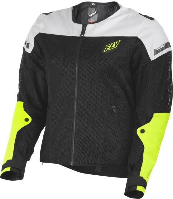 9778c1b605cb9 Buy Fly Racing Street Motorcycle Flux Air Armored Jacket Black ...