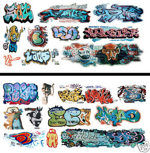 HO-Scale-Graffiti-2-Pack-16-Weather-Your-Box-Cars-Hoppers-amp-Gondolas