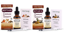 Amber Naturalz Reptaid & Reptaid XL Organic Reptile Immune Support 1oz FREE 2Day