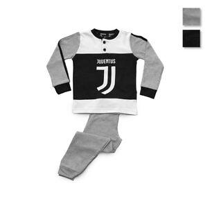 Pigiama-da-bambino-F-C-Juve-Juventus-ufficiale-invernale-Caldo-cotone-R628
