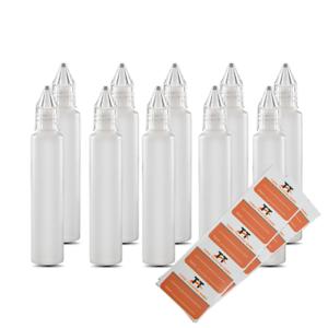 10-x-30ml-Stiftflaschen-o-Unicorn-Bottle-Kunststoffflaschen-aus-weichem-PE